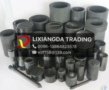 Customized machining available:small and large graphite machined parts/Graphite crucibles