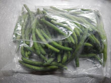 frozen vegetables IQF bulk Frozen cut green beans