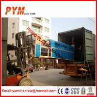 PP PE waste plastic film agglomerator and agglomerator machine