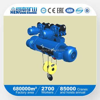 Henan Mine 3 ton electric cable hoist/3 tons cable hoist/30tones hoist