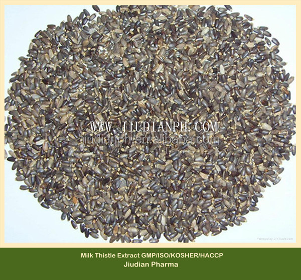 GMP Manufacturer Milk thistle seed extract powder silymarin silybin