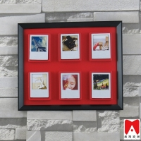 2015 PS frame Black red Wall Fotos hanging decorative picture casket interior decoration