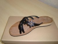 confortable leather sandal