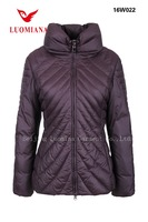 ourdoor ladies sport fashion with hood winter coats for women