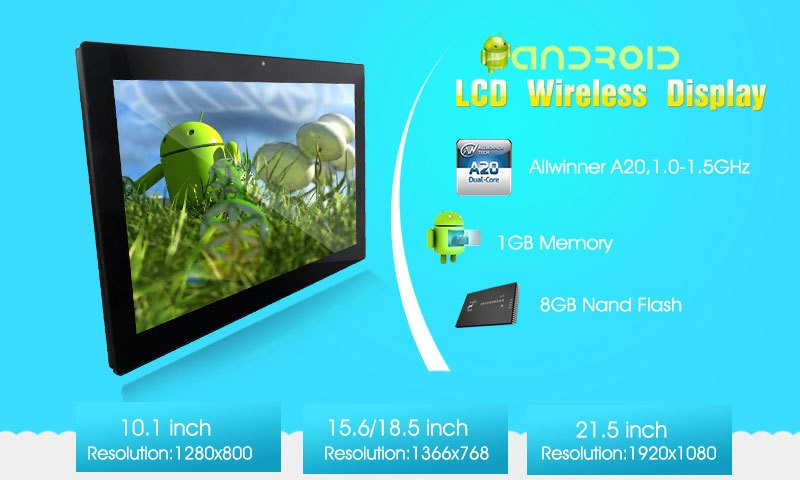 tablet 12 inch lcd tv with Android 4.4 rooted system which support installing 3rd Party APK