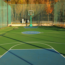 Anti skid Outdoor Basketball Court Acrylic Floor Paint