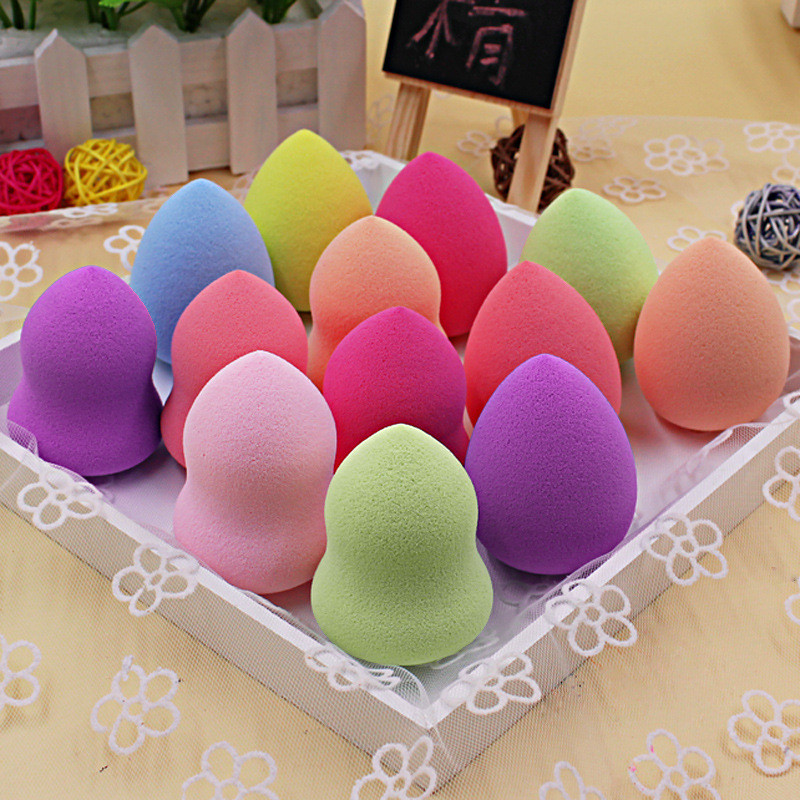 Cosmetics Beauty Sponge Blender - Latex Free and Vegan Makeup Sponge - For Powder, Cream or Liquid Application