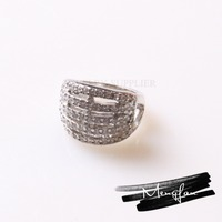 Fashion Designer Popular in the USA Stainless Steel Jewelry Ring