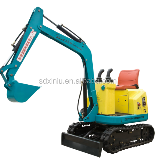 Kids ride on excavator,Amusement park mini kids electric excavator for sale