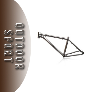 [ZLT] FACTORY TRANSPARENCY titanium mountain bike frame 29er