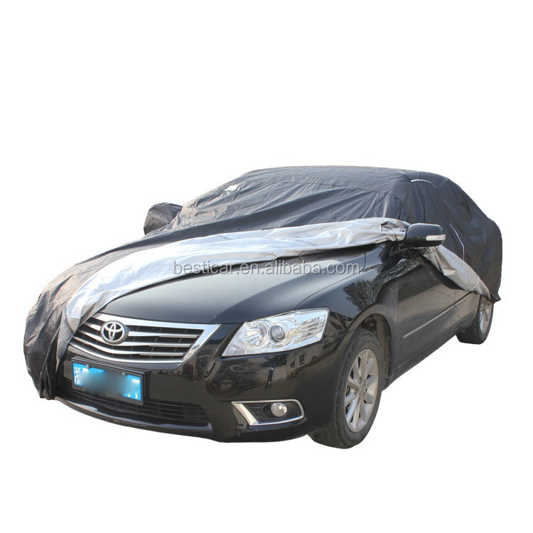 Waterproof Sun UV Proof Polyester Taffeta 190T Sedan Car Cover