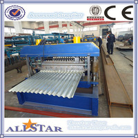 Building Material Machine/ Aluminium Galvanised Color Steel Profile Corrugated Metal Sheets Forming Machine For Roofing