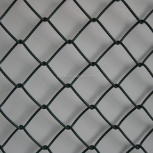6 Foot Galvanized Parking Lot Chain Link Fence Weave Mesh Fabric