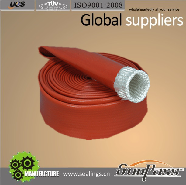 Industrial Wires Price of Glass Fibre Pipe Silicone Coated Glass Fiber Sleeve