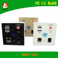Smart Home!!! GIFC LAN RJ45 Outlets 100Mbps Wifi Adapter 802.11 Wall socket with USB Ports