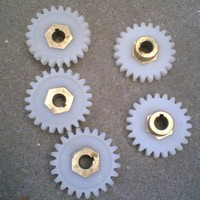 plastic pinion helical gear nylon tooth gears