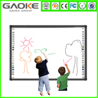 Classic multi touch GK880H85 gloview 3d touch interactive whiteboard