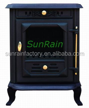 cast iron stove (http://www.sunrainstoves.com/)