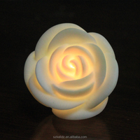 Party Gift Decorations Rose Flower Led Light