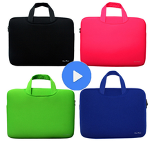 Portable Ultrabook Notebook Soft Sleeve Laptop Bag Case Smart Cover for Macbook Pro for Ipad Pro Retina 15.6 inch Handlebag