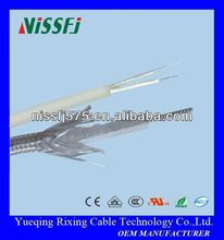 Silicone rubber high temperature heating resistant insulation electric alloy frost protection pipe heating cable wire