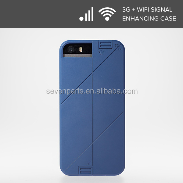 3G+WIFI signal Booster LINKASE PRO Protective Skin Cover Case for phone 5 / 5S-Midnight Blue