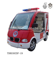 2 seats 48v 3kw electric fire engine