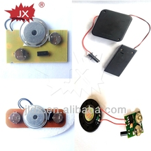 Customized mini music chip with motion sensor switch
