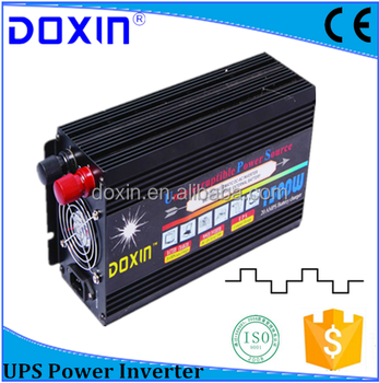 1500w Modified Sine Wave 12v DC AC Power Inverter with Charger 1500va