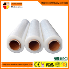 4 rolls or 6 rolls hand pallet shrink wrap lldpe stretch film