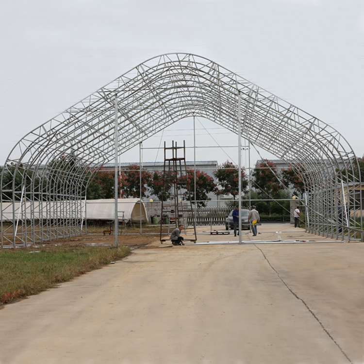 pvc/pe cover steel frame outdoor container canopy