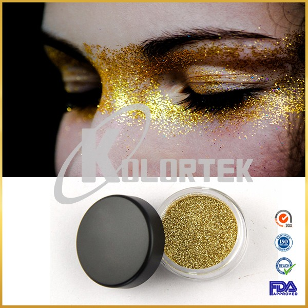 Cosmetic grade private label loose glitter for eye