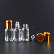 3ml 6ml 10ml 12ml refillable roll on ball glass perfume bottles