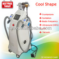 Freezing cool therapy cavitation ultrasound rf lipo melting slim machine