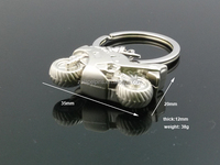 3D motorcycle key chain motorcycle keyring