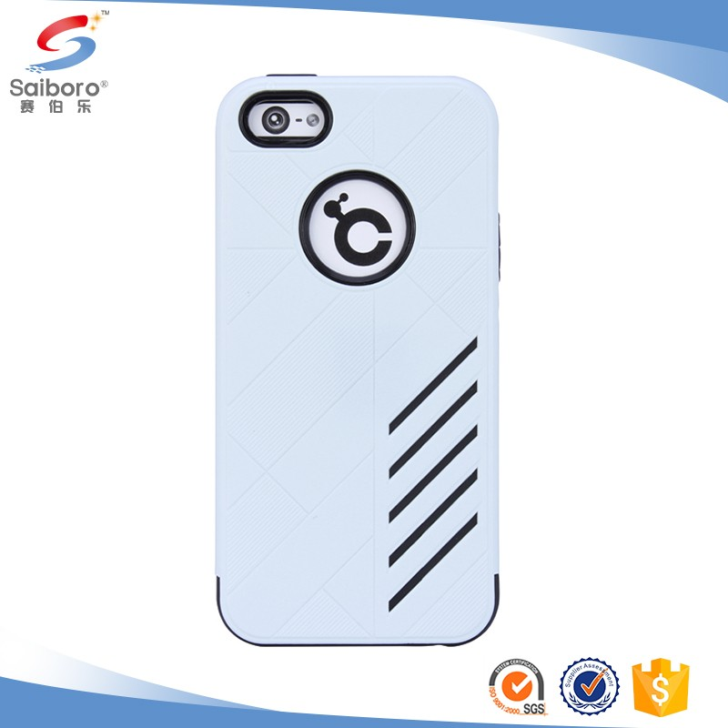 Promotional TPU+PC cover case for iphone 5 se 5se