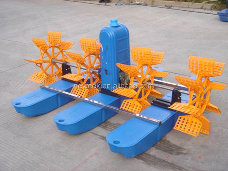 Neweek nuevo para pescado gambas agricultura rueda paddle for Aireadores para estanques piscicolas