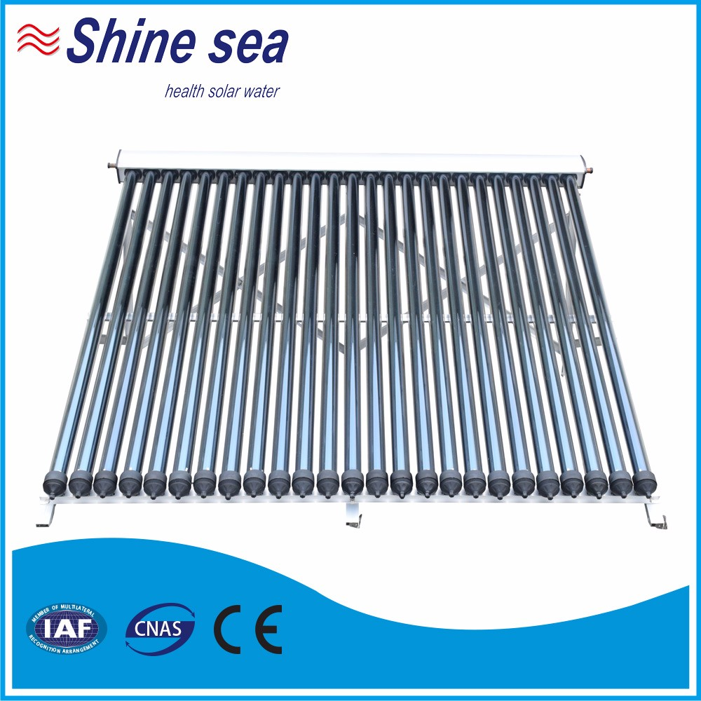 high efficiency heat pipe solar thermal collector indirect water heater