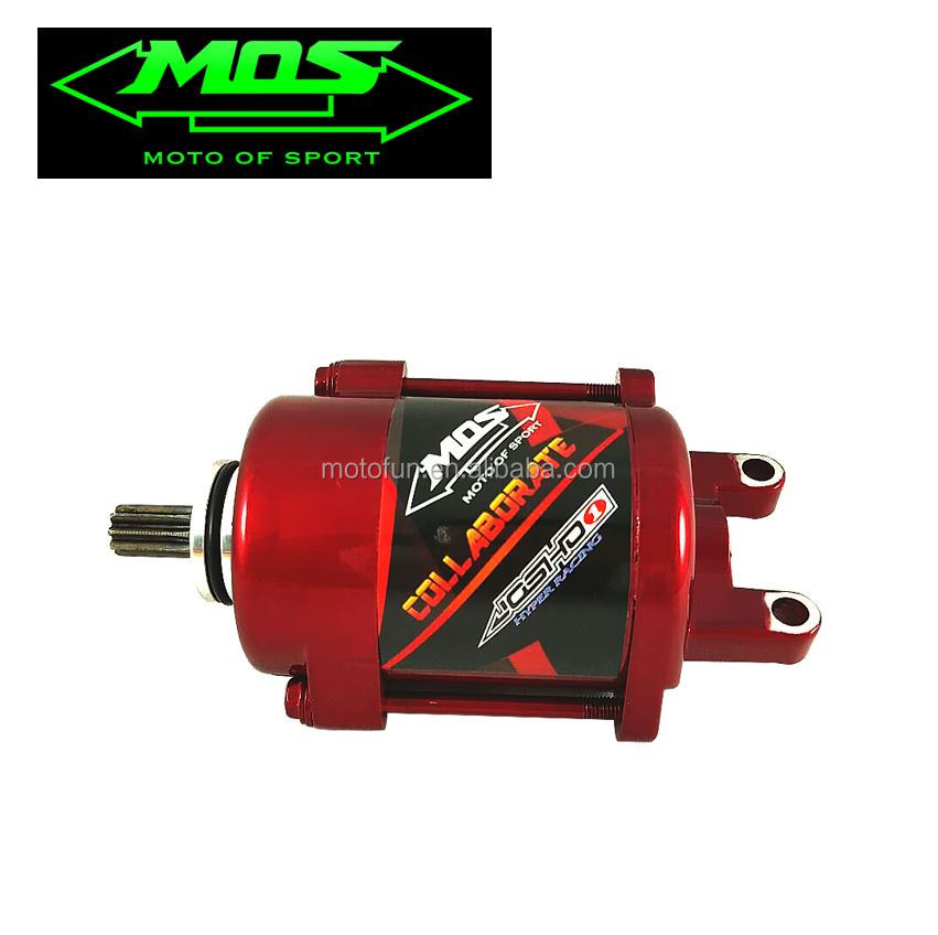[MOS] Starter Motor (Red) for Cygnus X / BWS / GTR / Breezs DX / FUZZY / Majesty