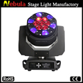 Fast rotating 19x12w big pro bee eye led moving head light