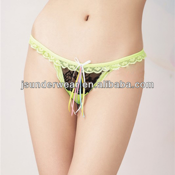 Woman Lady Sexy Thong T-Back Lace Panties Underwear String