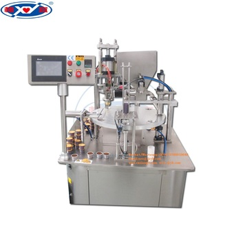 Good quality coffee capsule filling sealing machine(nepresso, K-cup,etc)