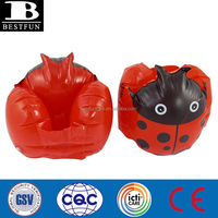 funny inflatable ladybug arm bands pvc inflatable floatie safety swimming arm float plastic sleeves for kids