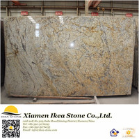 GS-380 IKEA STONE Price Of Polished Yellow Granite Slab Per Meter