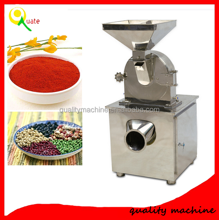 Dry Chilli Pepper Mill / Industrial Pepper Grinding Machine