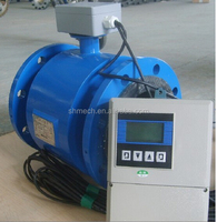 New invention battery powered air water flow meter