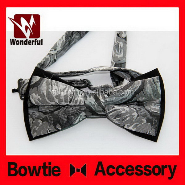 Best quality new products professional wired organza bow tie