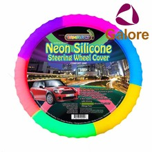Custom Silicone Wholesale Car Shrink Steering Wheel Cover