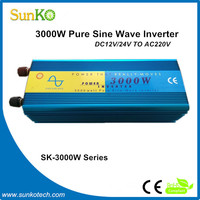 High Efficiency 3000W trace engineering inverters for wind turbines High Quality inverter cable CE RoHS Compliant SunKo Inverter