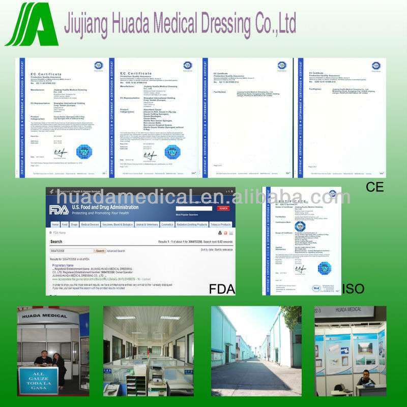 China factory price customizing packing jumbo rolled cotton gauze